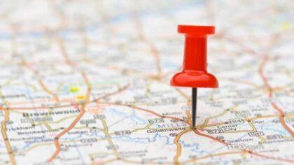 انتخاب منطقه کاری مشاورین املاک